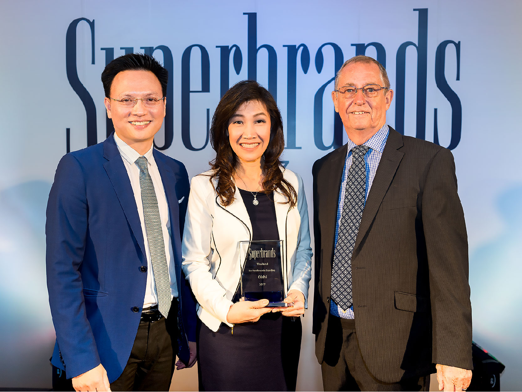 OISHI Honoured with Superbrands Thailand 2017 at the 3rd Consecutive Year